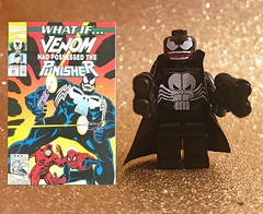 Image by nathanbeer (156326690@N03) and image name What If?... Venom had possessed the Punisher? photo  about Frank Castle and Venom. Who'd want out?