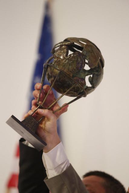56th Coupe Aéronautique Gordon Bennett - Award Ceremony