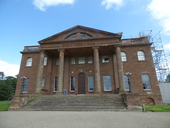 The mansion at Berrington Hall