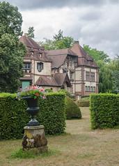 Château de la Leonardsau depuis le jardin