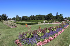 Another view of Anna Scripps Whitcomb garden