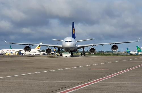 Lufthansa Airbus A340-642 D-AIHH seen at Dublin EIDW/DUB