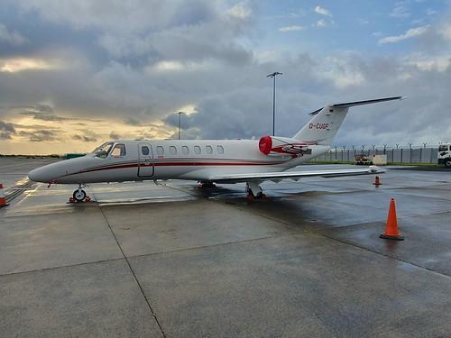 Textron Aviation Inc (Cessna) 525B CitationJet CJ3 D-CUGF seen at Dublin EIDW/DUB