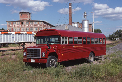 Wisconsin Central Bus #414
