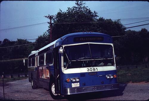 MTA Maryland: 1975 Flxible New Look [53096] #3081