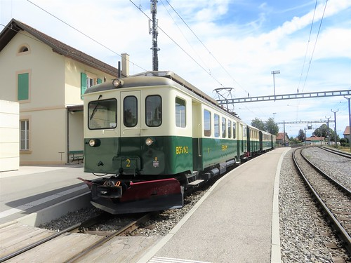 Trains du Morges Bière Cossonay anciennement Bière Apples Morges (Suisse)