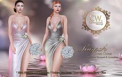 Image by ✿ ¸.•✿*♥ Celestinas Wedding♥*✿•.¸  (celestinascouture) and image name Celestinas Poster kayrah Gown photo