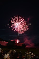 津山市 阿波ふるさとふれあい納涼星空祭り