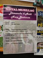Image by muffinn (mwf2005) and image name Noyal-Muzillac fes noz poster photo