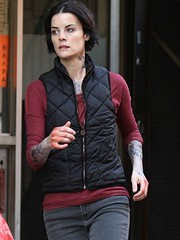 Image by alinaamy45 (142073812@N02) and image name Jaimie Alexander Blindspot Vest photo  about Jamie Alexander is a renowned actress, she has achieved reputation and appreciation by giving many hit movies and TV shows. She wore this vest in Blindspot American Drama Series. bit.ly/30n9DN5