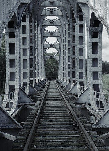 Gellik Belgium,  Railroad Bridge
