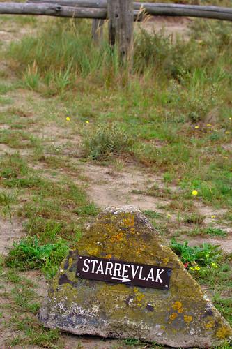 Starrevlak Sign