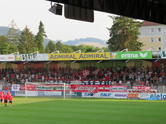 Image by Fubatour (fubatour) and image name 26.07 SK Vorwärts Steyr - FC Wacker Innsbruck 2 photo  about