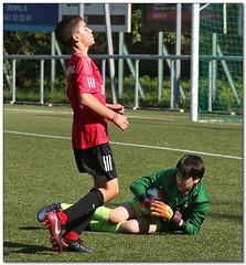Image by Jose Juan Gurrutxaga (joseju) and image name Donosti Cup 2019 - 0465 photo  about Añorga KKE A (Eus) vs Jordan Knights FA (JOR) (B13)