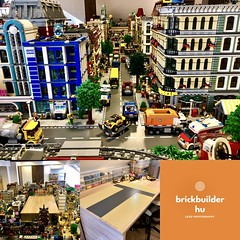 Image by BrickBuilder HU (gkovacs79) and image name Due to delay in delivery related to my new vitrine and Lego room furniture, I decided to start one of the most complex projects so far.... photo