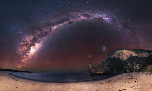 Milky Way at Windy Harbour, Western Australia