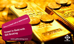 Image by GillBroking (gillbroking) and image name Gold trading - Why trade gold now? Gill Broking photo  about In this month gold rates achieve new highs and a good time for the investor to make money from online gold investing. If you check last previous 4-month gold commodity data then you will see approximately 32,000 per 10gm price gold convert to 38000 per 10gm price. So, it is a good time for investors