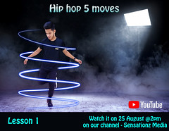 Image by sensationz4u@ymail.com (159053182@N07) and image name Hip hop lesson 1 photo  about Do you want to learn hip hop in the easiest way???  Here we are with the step by step tutorial of hip hop. The video is going to out on 25th August @ 2 pm on our youtube channel @sensationz media.  subscribe to our channel for the notification of the video.