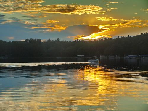 Herring Lake Sunset