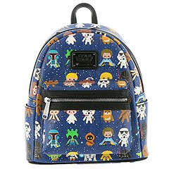 Image by wheelchairsusa1 (182241961@N07) and image name Loungefly Star Wars Baby Character Print Mini Faux Leather Backpack STBK0043 photo  about via WordPress hikingbackpack.site/loungefly-star-wars-baby-character-pr...