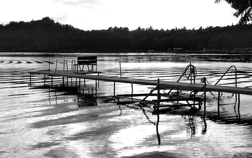 Dock at Herring Lake