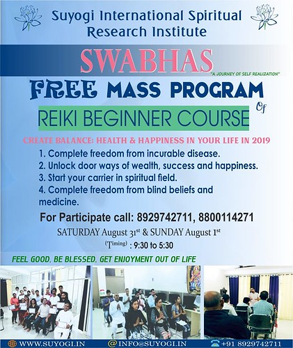 FREE REIKI MASS TRAINING PROGRAM