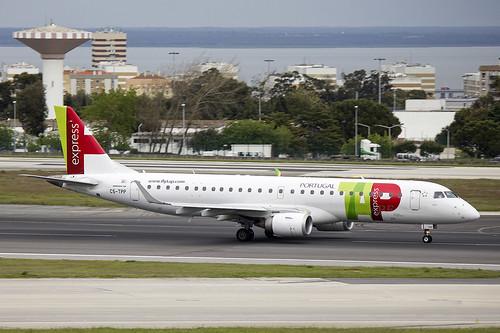 CS-TPP   Portugalia   Embraer ERJ-190LR (190-100LR)   CN 19000441   Built 2011   LIS/LPPT 02/05/2018   ex PP-PJN   Operated on behalf of TAP Express
