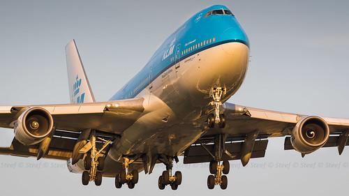 PH-BFG KLM Royal Dutch Airlines Boeing 747-406