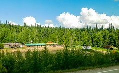 On the road: Nenana to Fairbanks, AK