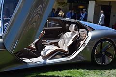Bentley EXP 100 GT, Interior close-up. As seen @ Pebble Beach Concours, Aug, 2019. [PB 2019 DSC_1747].