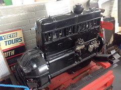 Bedford Petrol Bus Engine