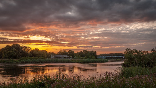 Cloudy Sunrise at the River