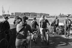 City of bikes: IJplein Ferry, Amsterdam