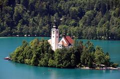 Bleder Insel mit Kirche