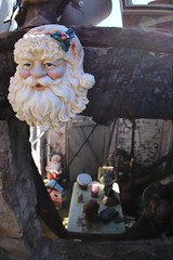 View of the Santa and the basement in the back