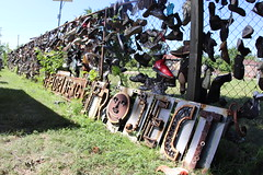 """Heideberg Project"" sign in metal"