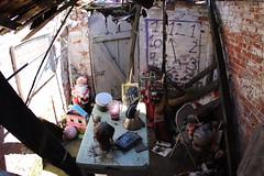 The basement of demolished house
