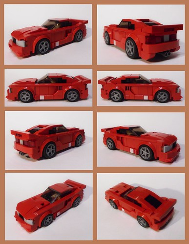 FF2 2003 Saleen S281-E Mustang (collage)