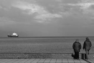 Conversación íntima.....mirada al horizonte!!!