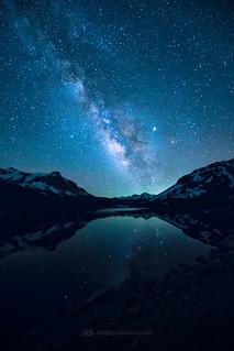 Milky Way over Tioga Lake