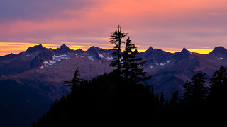 North Cascades evening light