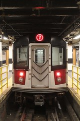 MTA New York City Subway Kawasaki R188 7 train