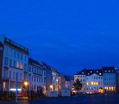 Copenhagen by night.