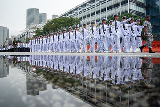 Singapore Navy Guard-Of-Honour