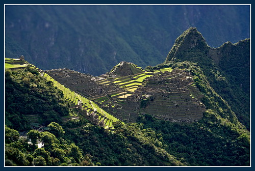 Light on Machu Picchu
