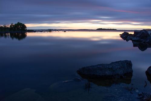 Le jour se lève sur le Connemara - Dawn on Connemara