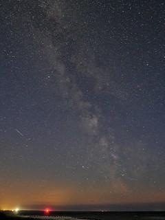 Milchstraße über Amrum