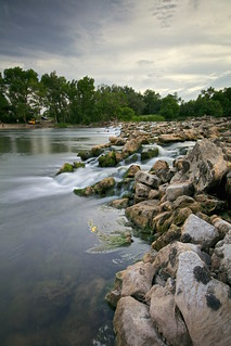 Rocas en el rio