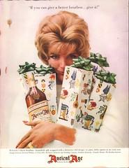 1960 Ancient Age Bourbon Advertisement Life Magazine December 5 1960