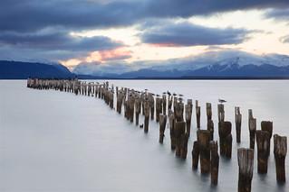Puerto Natales / sunset